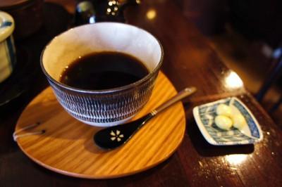 コーヒー試飲